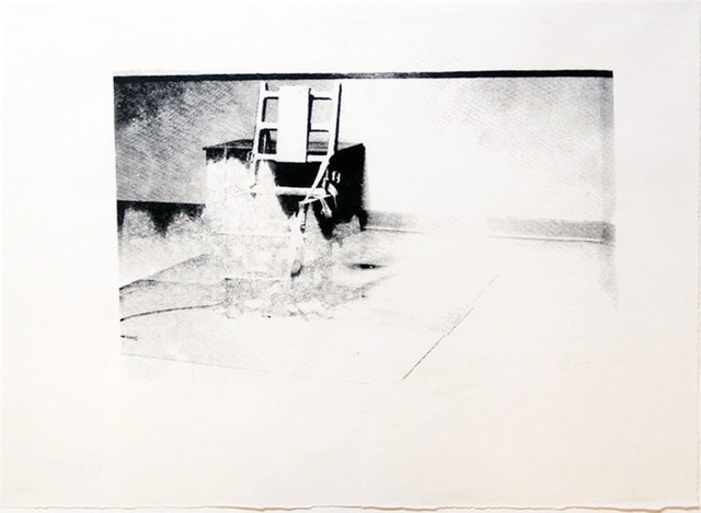 , 'Electric Chair (Retrospective Series),' ca. 1978, Hamilton-Selway Fine Art