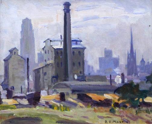 Bernice Fenwick Martin, 'DOWNTOWN PARLIAMENT', ca. 1950, Roberts Gallery Ltd.