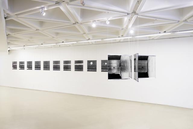 , 'snow+concrete XII, XV, XIV, X,' 2012-2013, Galerie du Monde