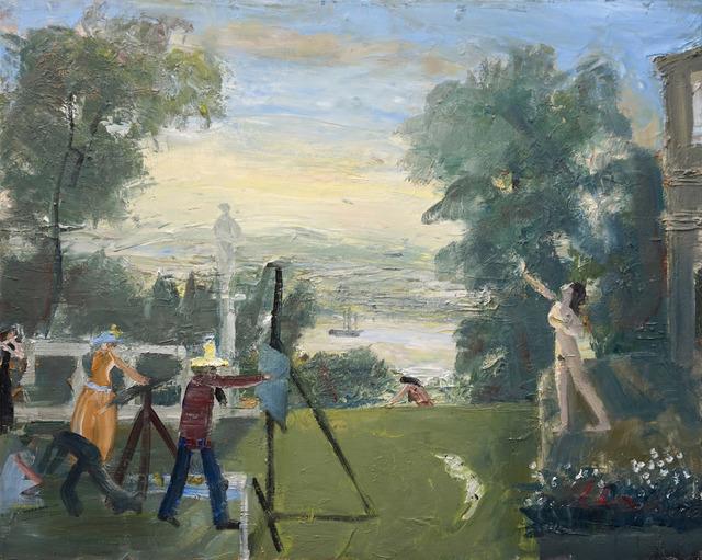 , 'Hudson River Drawing Class,' 2016, Anna Zorina Gallery