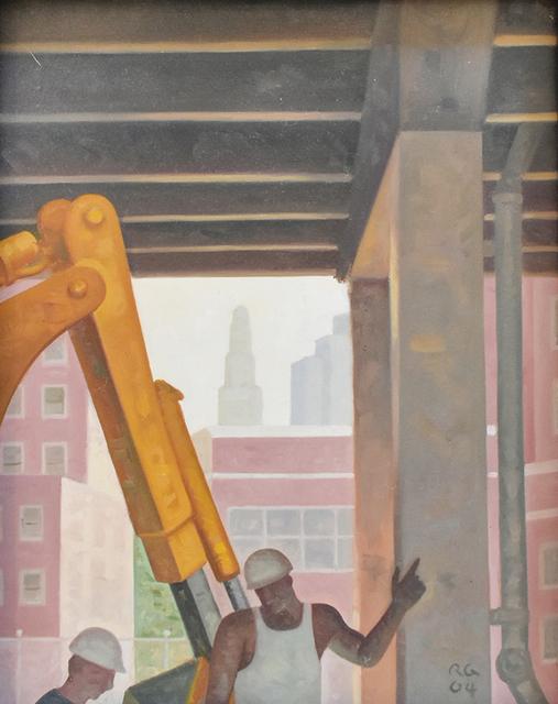 Robert Goldstrom, 'Road Work', 2004, Carrie Haddad Gallery