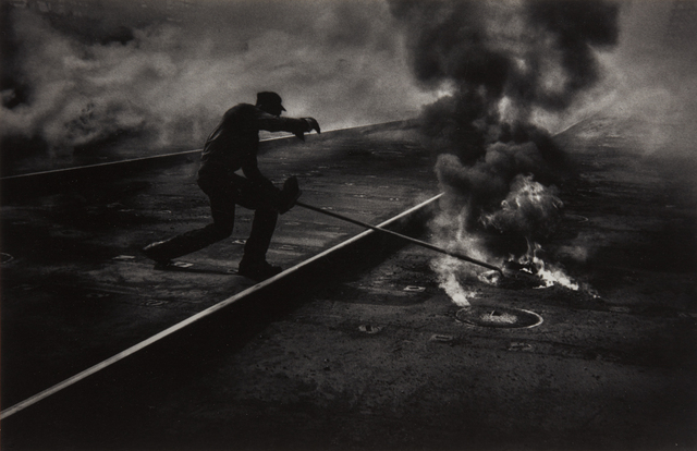 W. Eugene Smith, 'Dance of the Flaming Coke, Pittsburgh', 1955, Phillips