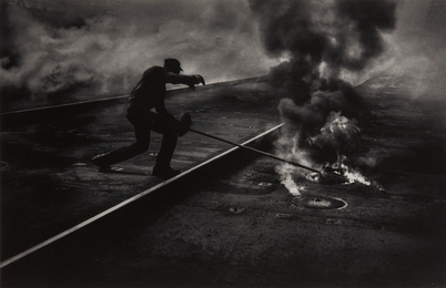 W. Eugene Smith, 'Dance of the Flaming Coke, Pittsburgh,' 1955, Phillips: The Odyssey of Collecting