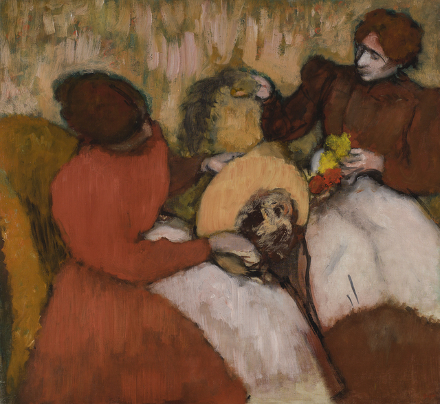 Edgar Degas, 'The Milliners', ca. 1898, Legion of Honor
