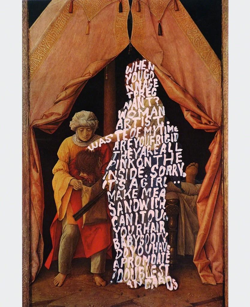 Women Words #40 (Mantegno)