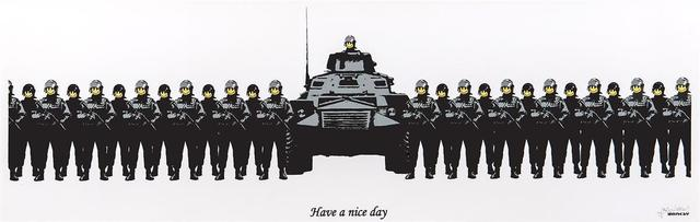 , 'Have A Nice Day - Unsigned,' 2002, Hang-Up Gallery