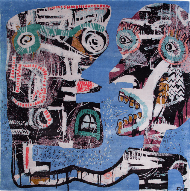 , 'Puppet Master,' 2014, Joseph Carini Carpets