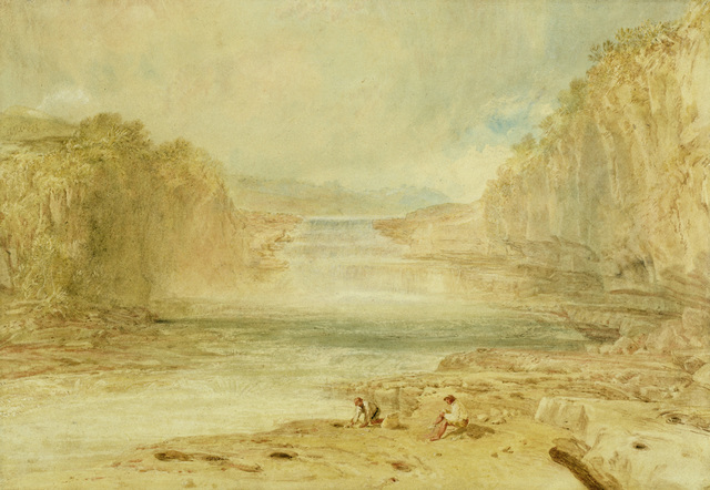 , 'Aysgarth Force, Richmondshire,' 1817, Indianapolis Museum of Art at Newfields