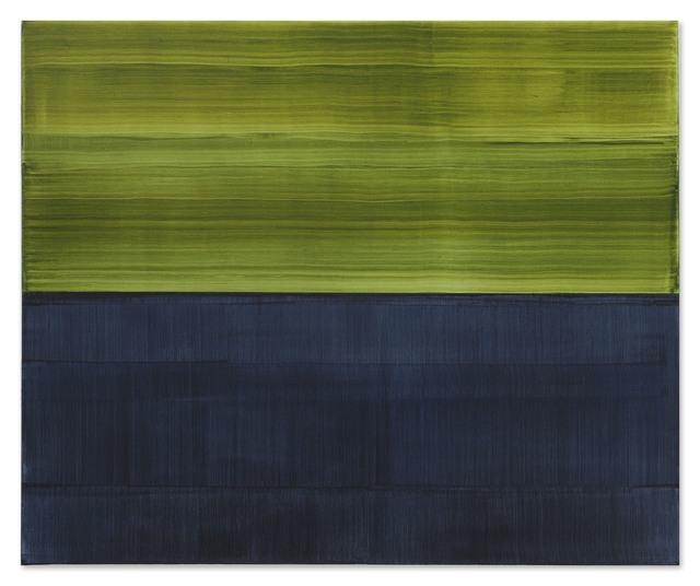 Ricardo Mazal, 'Green and Payne's Grey 1', 2017, Sundaram Tagore Gallery