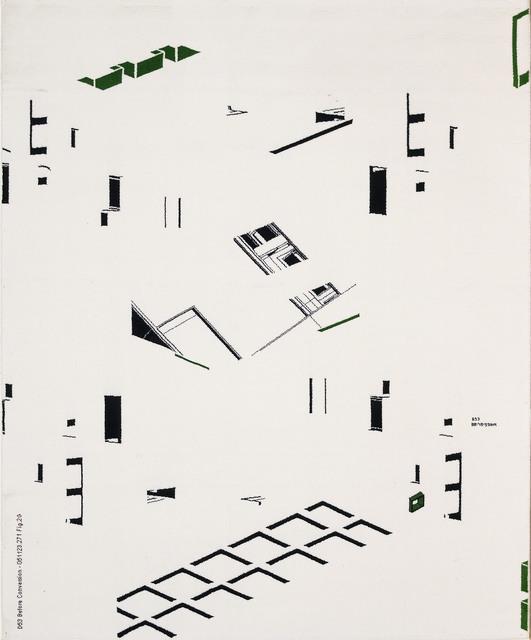 , 'D53 Before Conversion - 051123.271 Fig.2G,' 2006, Deweer Gallery