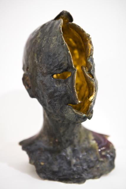 , 'Nœvus - Tête or,' 2016, Galerie Ariane C-Y