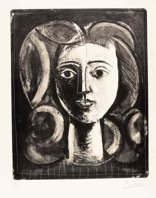 , 'Tête de jeune fille,' 1947, Galerie Raphael