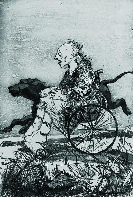 , 'The Children's Crusade - Black Dog,' 1996-1998, Marlborough London