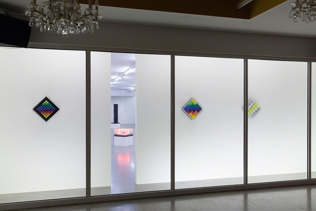 """Exhibition view """"Edgar Knoop – subway 813"""", Photo: © Belvedere, Vienna"""