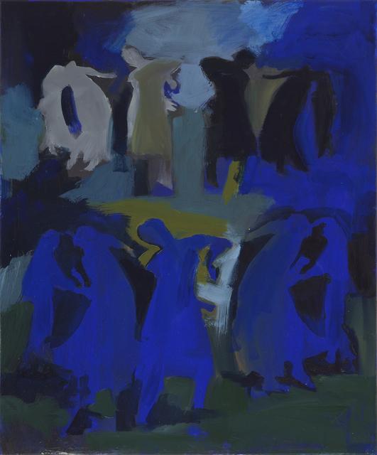 Iwalani Kaluhiokalani, 'Stage Instructions', 2020, Painting, Oil on canvas, Galatea Fine Art
