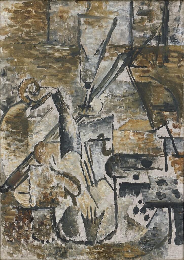 Georges Braque Violon Et Archet 1911 Artsy