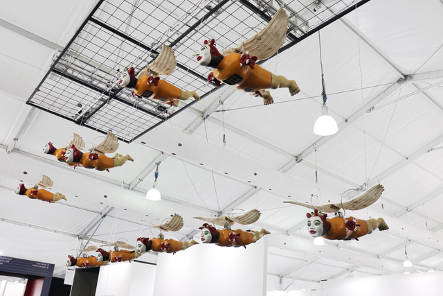 , 'Smiling Angels from the Sky,' 2018, The Columns Gallery