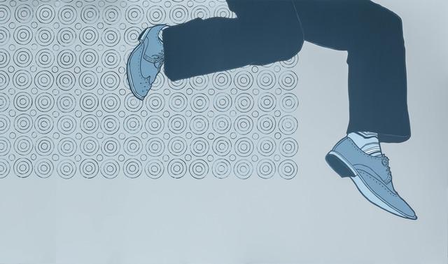 , 'LEAP no. 4,' 2012, Kustera Projects