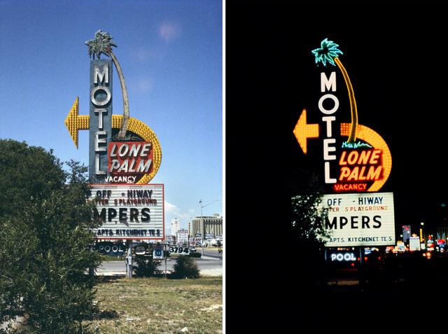 , 'Lone Palm Motel, Las Vegas, Nevada,' 1976, Nederlands Fotomuseum