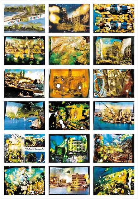 , '2e partie du projet Wonder Beirut,' 1997-2006, Jeu de Paume