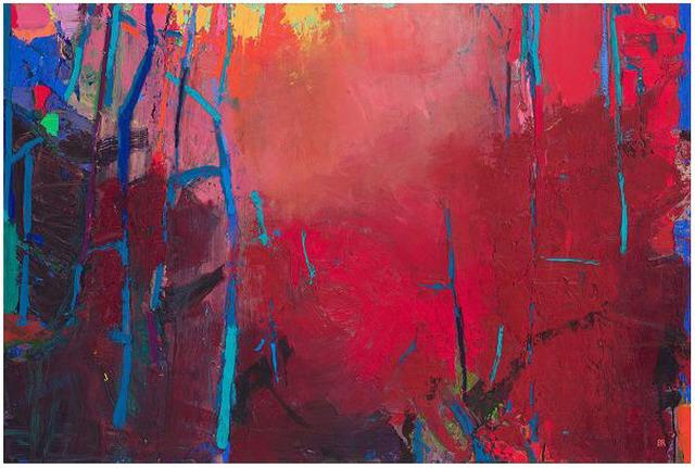 Brian Rutenberg, 'TOP OF THE HILL', 2018, Jerald Melberg Gallery