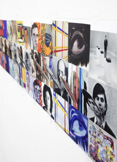 , 'selfportraitasartistasart,' 2018, Federico Luger (FL GALLERY)