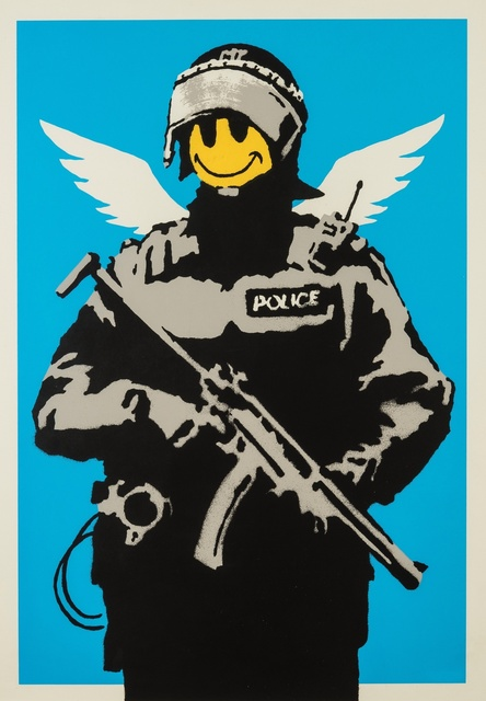 Banksy, 'Flying Copper', 2003, Forum Auctions