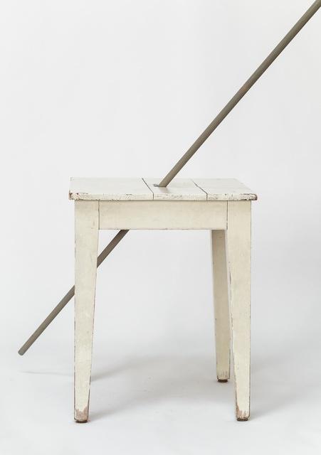 , 'Ohne Titel (Stuhl mit Stock),' 2016, Bernd Kugler