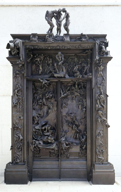 , 'La porte de l'Enfer (The Gates of Hell),' , Musée Rodin