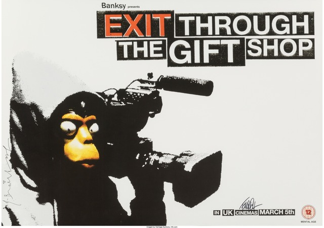 Banksy, 'Exit Through the Gift Shop poster', Heritage Auctions
