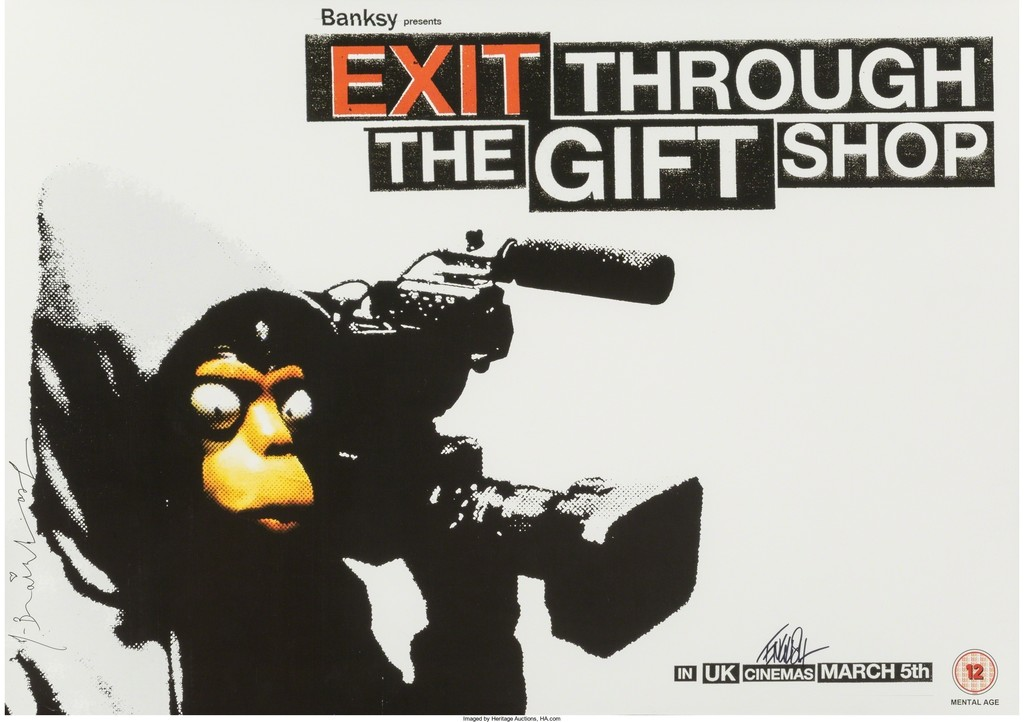 After Banksy | Exit Through the Gift Shop poster | Artsy