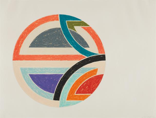 Frank Stella, 'Sinjerli Variation 1a, from Sinjerli Variations', 1977, Phillips