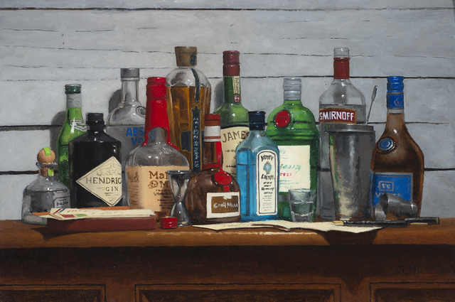 , 'Bar Study,' 2017, Rehs Contemporary Galleries
