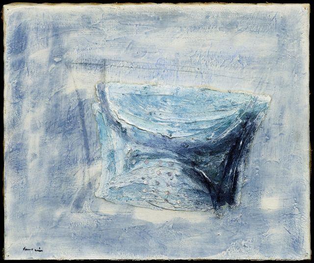 Jean Fautrier, 'La Passoire', 1947, Painting, Oil on wove paper on canvas., Koller Auctions