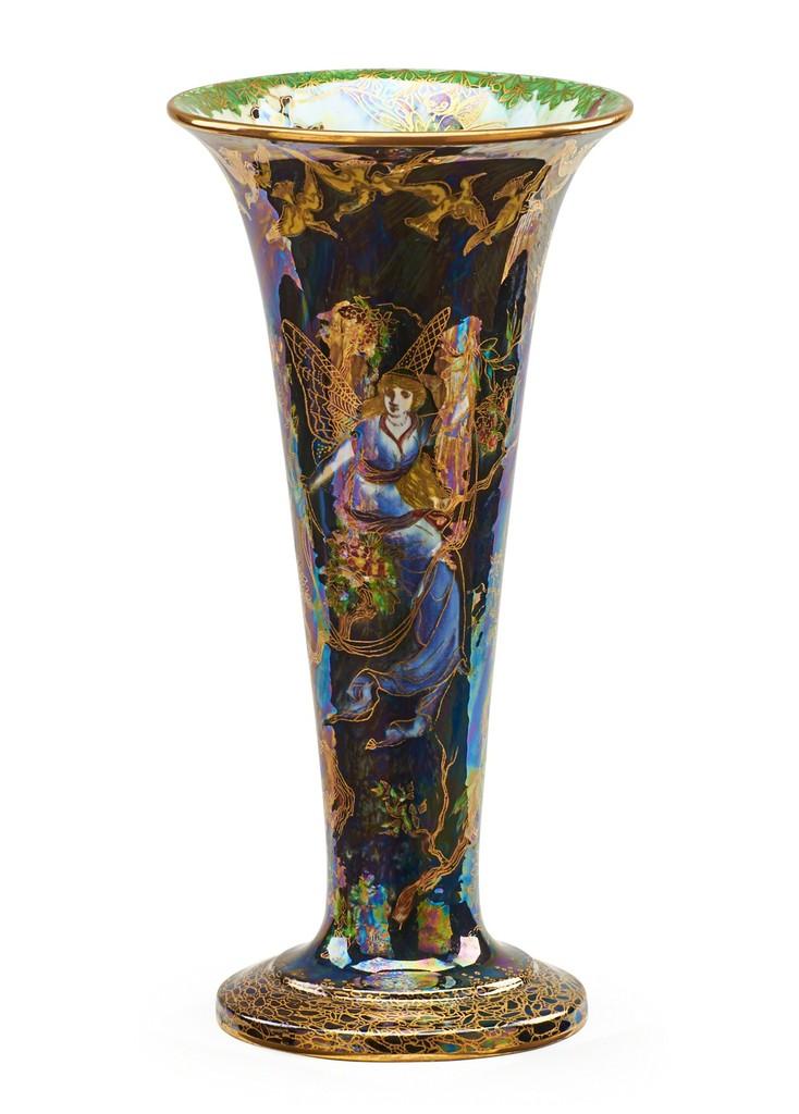 XXL vase grande pièce décoration fleurs vases pots Antik Style Deco Méduse 90 cm