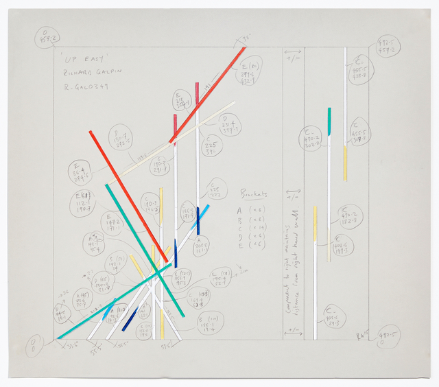 , 'Configuration Drawing for Up Easy (Config.NY.CT.OCT2015),' 2015, Cristin Tierney