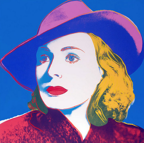 Andy Warhol, 'Ingrid Bergman with Hat', 1983, Leviton Fine Art