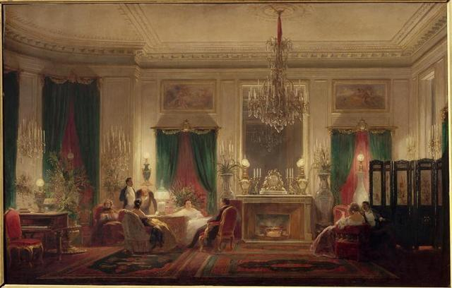Sébastian Charles Giraud, 'Salon de la princess Mathilde (Princess Mathilde's Room)', 1859, Musées et domaine nationaux du palais de Compiègne