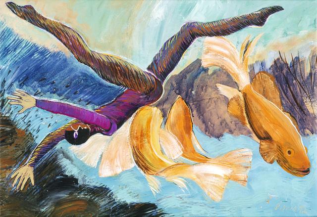 , 'Icarus,' 1992, Susan Eley Fine Art