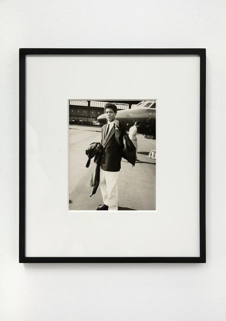 Andy Warhol, 'Jean-Michel Basquiat & Private Jet', 1983, Jack Shainman Gallery