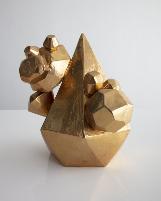 , 'Unique Gem Cluster in ceramic with a gold glaze,' 2018, R & Company
