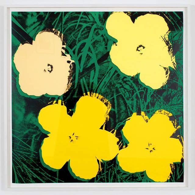 , 'Flowers II.72,' 1970, RUDOLF BUDJA GALLERY