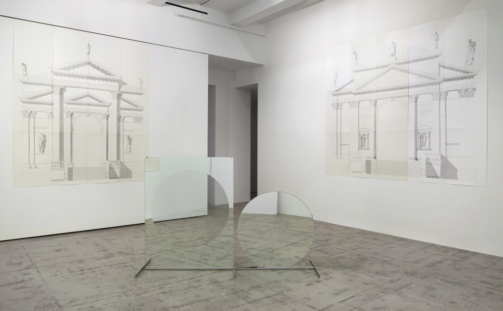 Luciano Fabro, Curated by Dieter Schwarz, Installation View, Marian Goodman Gallery, New York, May 1 – June 13, 2015