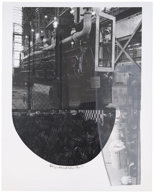Robert Rauschenberg, 'Tracks (Stoned Moon),' 1970, San Francisco Museum of Modern Art (SFMOMA)