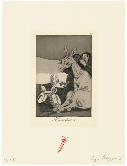 Enrique Chagoya, 'Bravisimo! / Bravissimo!', 2015, Universal Limited Art Editions