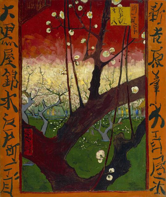 Vincent van Gogh, 'Japonaiserie: Flowering Plum Tree,' 1887, Van Gogh Museum