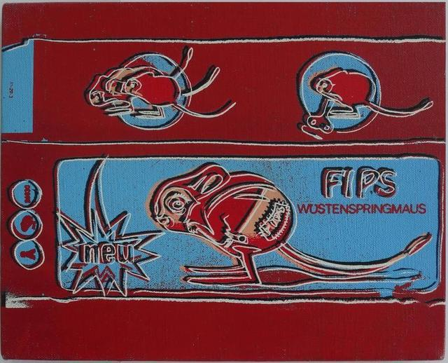 , 'Toy Painting Fips by Andy Warhol,' 1983, Revolver Gallery