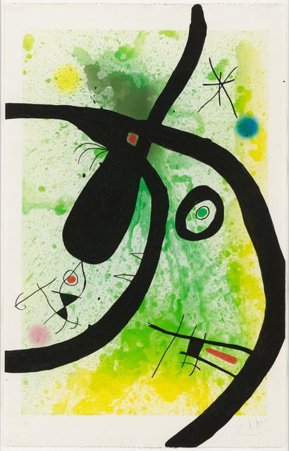 , 'LE CHASSEUR DE PIEUVRES,' 1969, Galerie d'Orsay