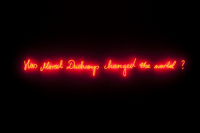 , 'Has Marcel Duchamp changed the world?,' 2014, Rodriguez Gallery