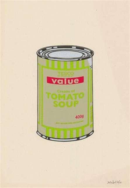 Banksy, 'Soup Can (Sage Green)', 2005, Contemporary Art Trader